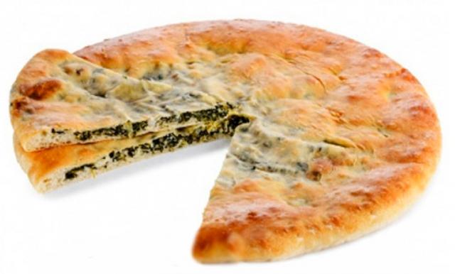 Пирог осетинский со шпинатом рецепт с пошагово